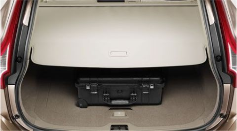 Luggage compartment cover